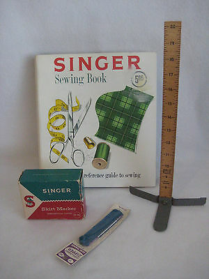 Vintage Singer Skirt Marker With Ruler And Instructions Hem Sewing FREE SHIPPING