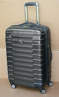 Travelpro FreeRun 24 in. Hardside Spinner - Luggage Black-Bronze - MSRP $360
