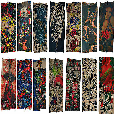 1Pair Hot Sells New Tatoo Sleeves temporary tattoos sleeves tattoo Arm Stockings
