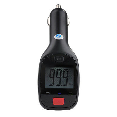 Handsfree Bluetooth FM Transmitter Car Charger For Micro SD Card iPhone 6 5S 5 4