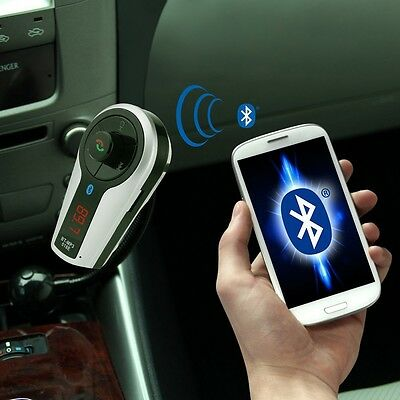 Bluetooth MP3 Player FM Transmitter Hands-free Car Kit Charger for iPhone 6 Plus
