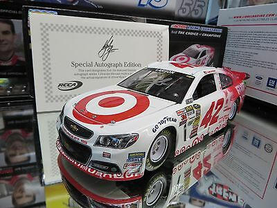 AUTOGRAPHED  KYLE LARSON 2014 TARGET NIGHT SPECIAL 1/24 ACTION