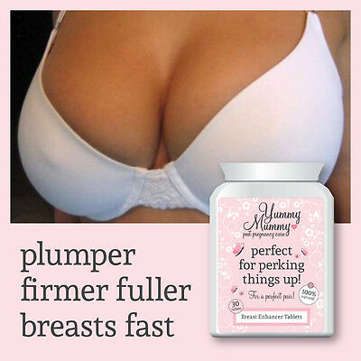 Yummy Mummy Pregnancy Breast Enlargement Pills Bigger Firmer Boobs