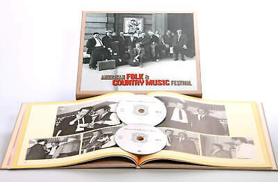 Various - History - American Folk & Country Festival (2-CD) - Classic Country...