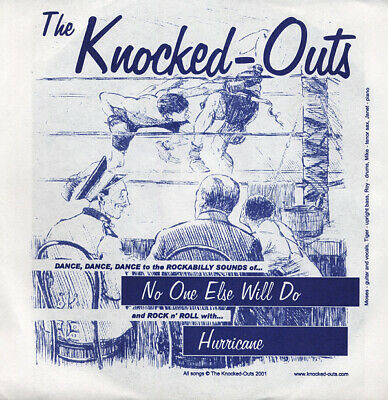 Knocked-Outs - No One Else Will Do - Hurricane 7inch, 45rpm - Singles Revival...