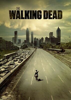 THE WALKING DEAD Large Poster Photo Print Wall Art Room Decoration HIGH QUALITY