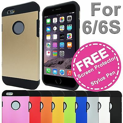 Shockproof Tough Hard Solid Heavy Duty Armor Case Cover for Apple iPhone 6s 6