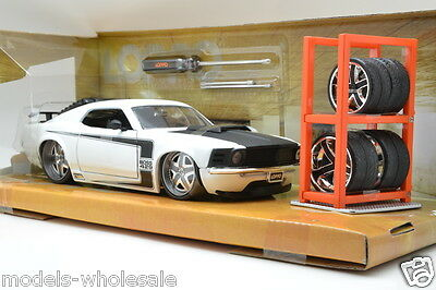 Ford Mustang Boss 429 Lopro se Jada Toys 1/24 1970