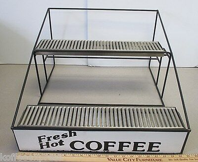 Airpot Rack  6 Position Wire Rack  Mint Condition