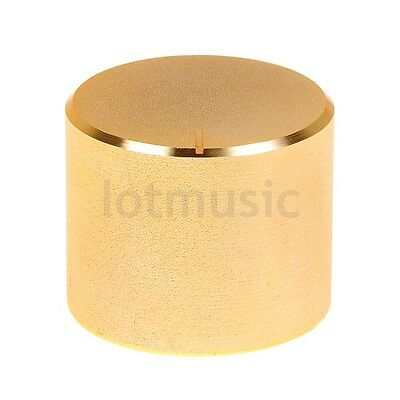 26X21mm Gold Knob Cap  Aluminum Potentiometer Knob Cap New