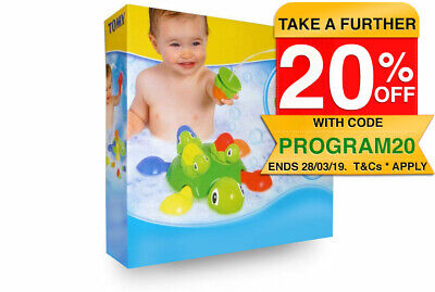 Tomy Baby Kids toddler Turtle Tots Bath time squirt water Activity Floating Toy