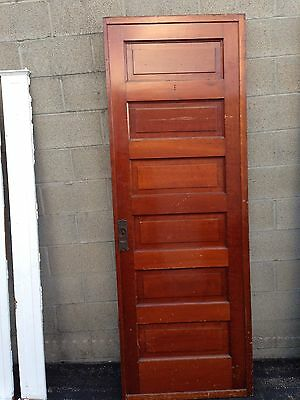 D 32 Antique Cherry Single Pocket Or Passage Door