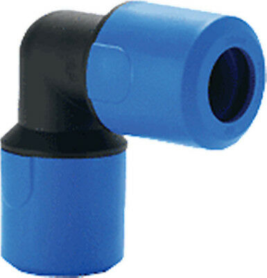 20Mm Speedfit Push Fit Blue Equal Elbow For Cold Water Ug301B