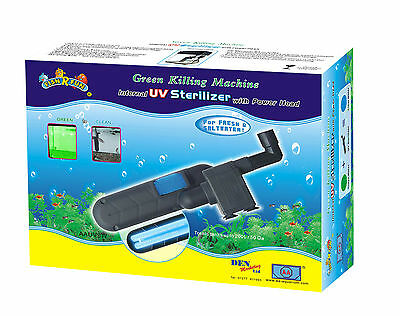 Aquarium 24 Watt UV Sterilizer Filter Fish R Fun See Video Green Water Clear