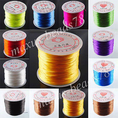 Strong Stretchy Elastic String Cord Thread For Bracelet Necklace Jewelry MBH024