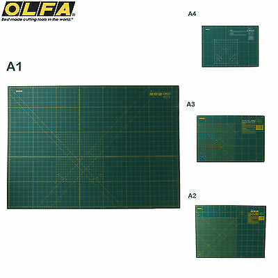 Cutting Mat Self Healing Green Non Slip Self Sealing Cutting Mats Board 4 Sizes