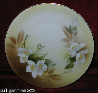 "1 - 6 1/4"" Reinhold Schlegelmilch (RS Prussia) Porcelain Plate  (2014-186)"
