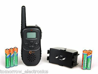 New LCD 100LV Level Electric Shock&Vibra Remote Pet Dog Safe Training collar