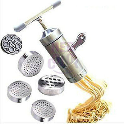 Stainless Steel Pasta Noodle Maker Fruit Juicer Press Spaghetti Machine