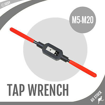 "M5-M20 Tap Wrench 1/4"" - 3/4"" Heavy Duty Extra Long Handle Hand Tapping Bar NEW"