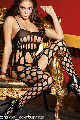 Sexy Pantyhose Lingerie Sheer Lace Body Fishnet Stockings