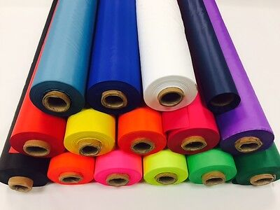 Water Resistant Ripstop Fabric By The Metre (Pr3) - 15 Colours - Free Post