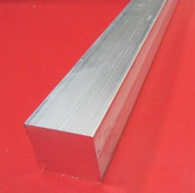 """6061 T651 Aluminum Square Bar, 2 3/4"""" (2.75"""") Thick x 2 3/4"""" Wide x 36"""" Length"""