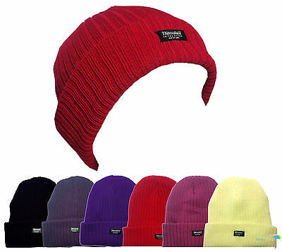 Ladies Beanie Hat with 3M Thinsulate Insulation Fleece One Size 6 Colours