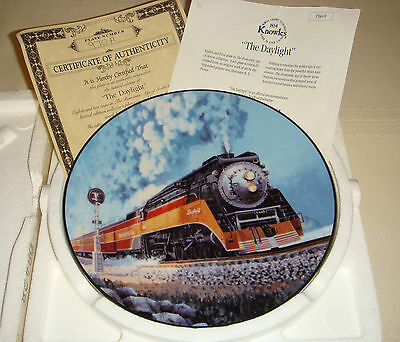 RE PIERCE Age Of Steam Colorful Express Streamliner & Closed Cab DAYLIGHT Plate