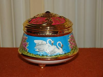 House Of Faberge The Imperial Music Box Collection Swan Lake By Franklin Mint
