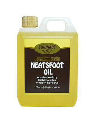 Equinade Lite Neatsfoot Oil restoration saddlery Jackets ALL leather goods