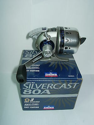 DAIWA SILVERCAST SC80A Spincast Fishing Reel