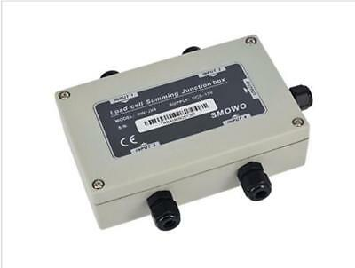 4 way load cell junction box/4 channel sensor summing box