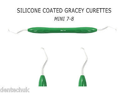 Silicone Coated Gracey Curette Mini 7/8 Dental Instrument Periodontal Scaler