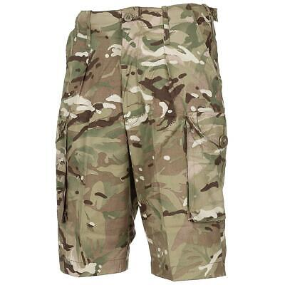 MTP Multicam Shorts Genuine British Military Army Issue Camo Combat Shorts ~ New