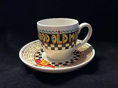 Mary Englebreit Good Ole Mom Mug and Saucer