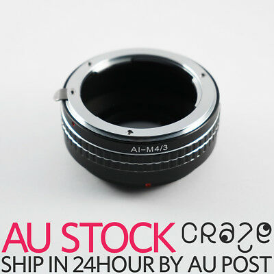 Nikon F AI Lens Mount to Micro 4/3 Four Thirds m 4/3 Mount Adapter ring m4/3 m43
