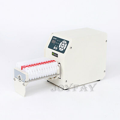 Peristaltic Pump 0.0265-64.5 ml/min per channel 12 channel 6 Roller BT100N