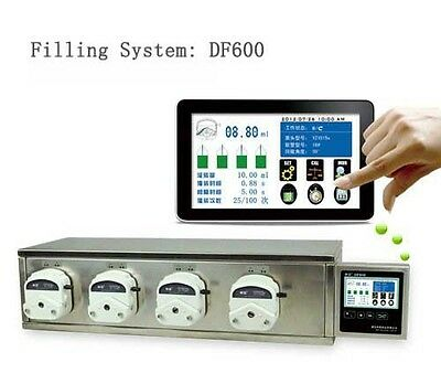 Peristaltic Pump Filling System Integrated Type DF600 4*YZ1515x