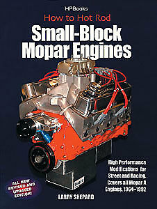 HP Books 1-557-884056 Book: How to Hot Rod Small-Block Mopar Engines