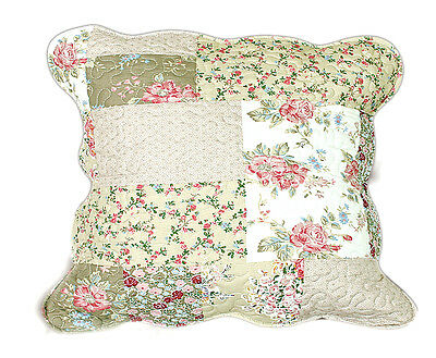 Tache 2 Piece Flora's Outing Floral Decorative Throw Pillow Cushion Cover Set