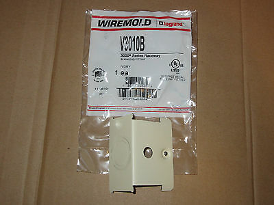 "(19) New Wiremold / Legrand V3010B Raceway 2 3/4"" Blank End Fitting 3000 Series"