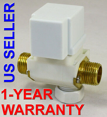 1/2 inch 24V AC VAC Solenoid Valve with Check Valve Filter ONE-YEAR WARRANTY