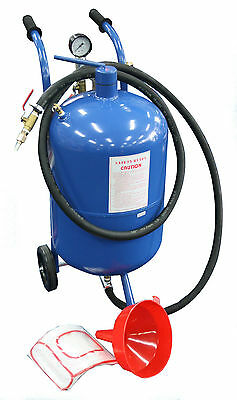 NEW 38 Litre 10 Gallon Pressure Abrasive Air Sand Blaster Portable SB10