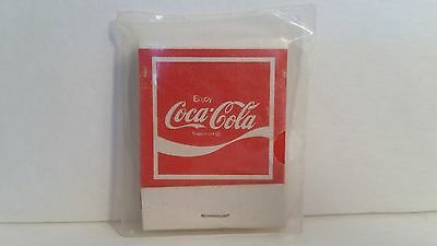 Coca Cola Coke Adds Life To Everything Nice Matchbook New at Mr.Niceguys