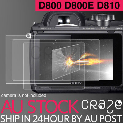 LCD Premium Tempered Glass Film Screen Protector For NIKON D800 D800E D810