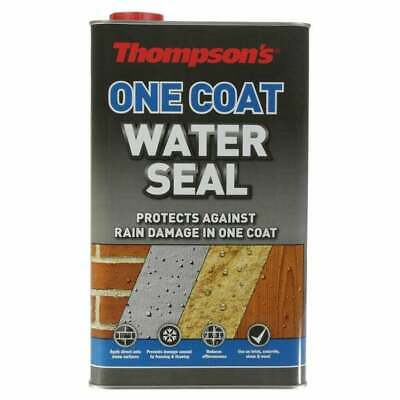 THOMPSONS WATER SEAL ULTRA ONE COAT ONLY REQUIRED 5 Litre BRICK CONCREATE STONE