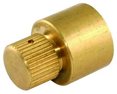 15mm/22mm Brass Capillary Air Vent - End Feed For Copper Pipes - Manual Release