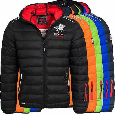 Doudoune Homme Royal Polo Geographical Norway Taille L Blouson Headphone