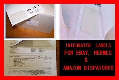 100 200 500 1000 A4 Address LABELS SHEETS SELF ADHESIVE STICKY INKJET INTEGRATED